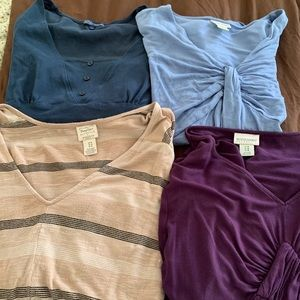 Maternity tops all 4 for 15
